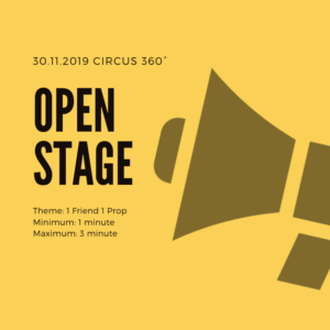 Circus open stage creation